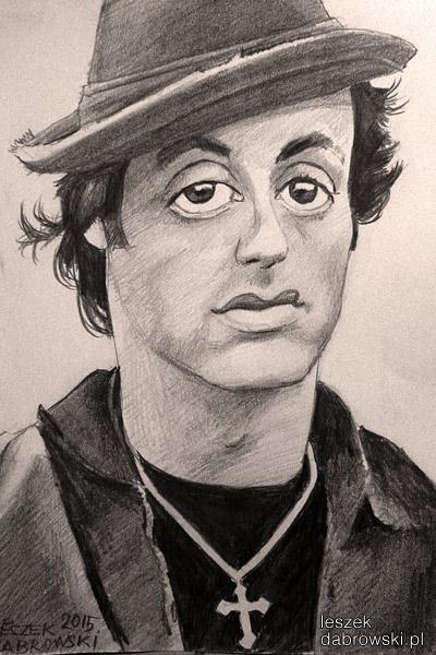 Rocky Balboa, Rocky 1, karykatura, Sylvester Stalone