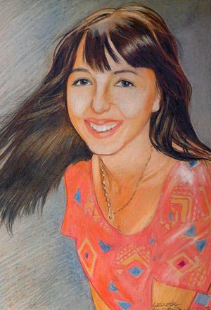 kolorowy-portret-dziewczyny-w-rozowej